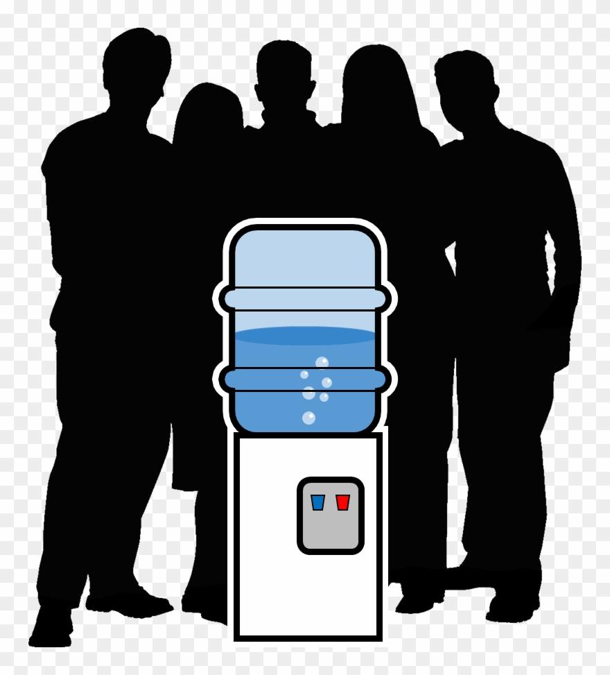 Clip Art Transparent Water Cooler Allaboutlean Com.
