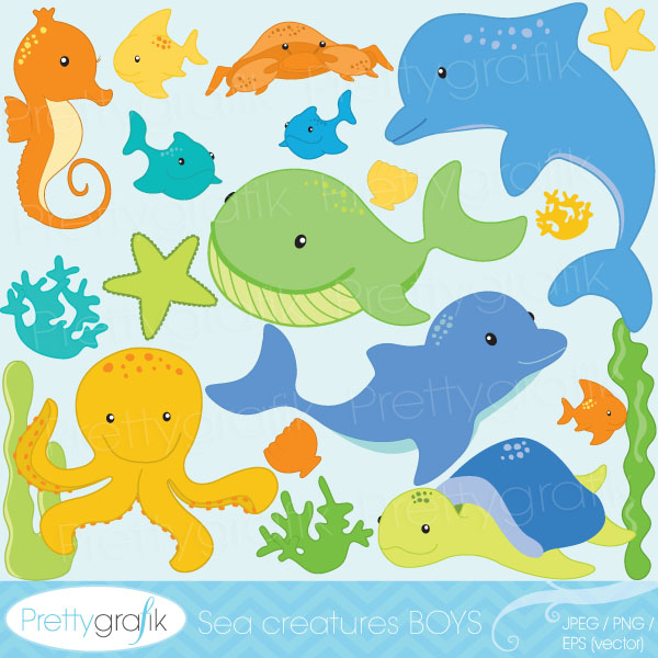1000+ images about Under the sea graphics, crafts and party ideas.