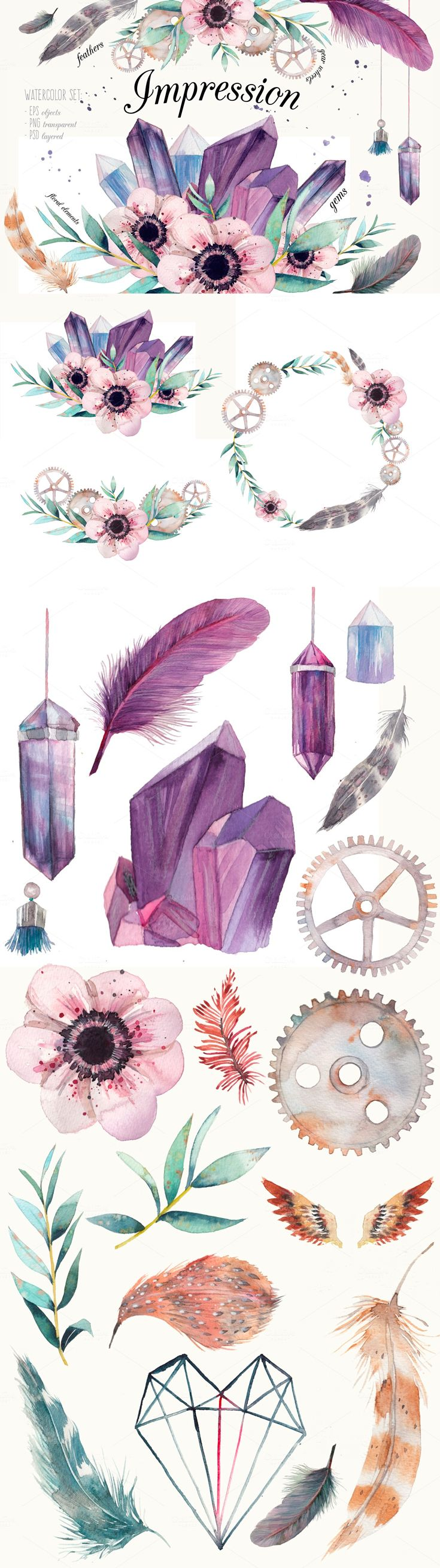 1000+ ideas about Crystal Illustration on Pinterest.