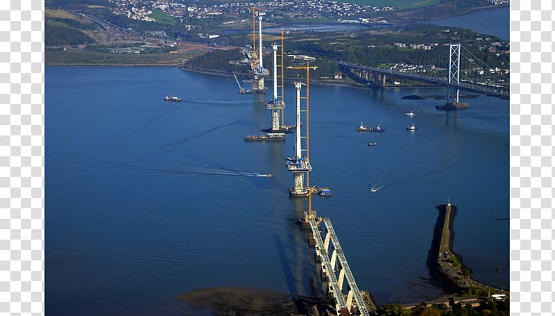 Queensferry Crossing Waterway Bridge.