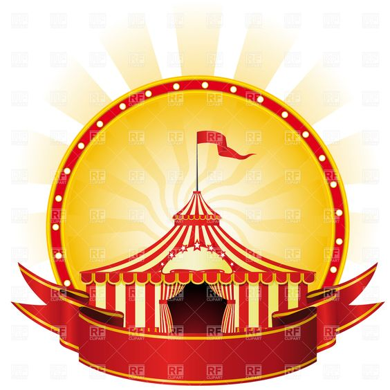 Circus Borders And Frames Download Royalty Free Vector Clip Art.