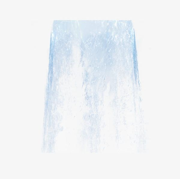 Simple Water Curtain PNG, Clipart, Blue, Curtain Clipart.
