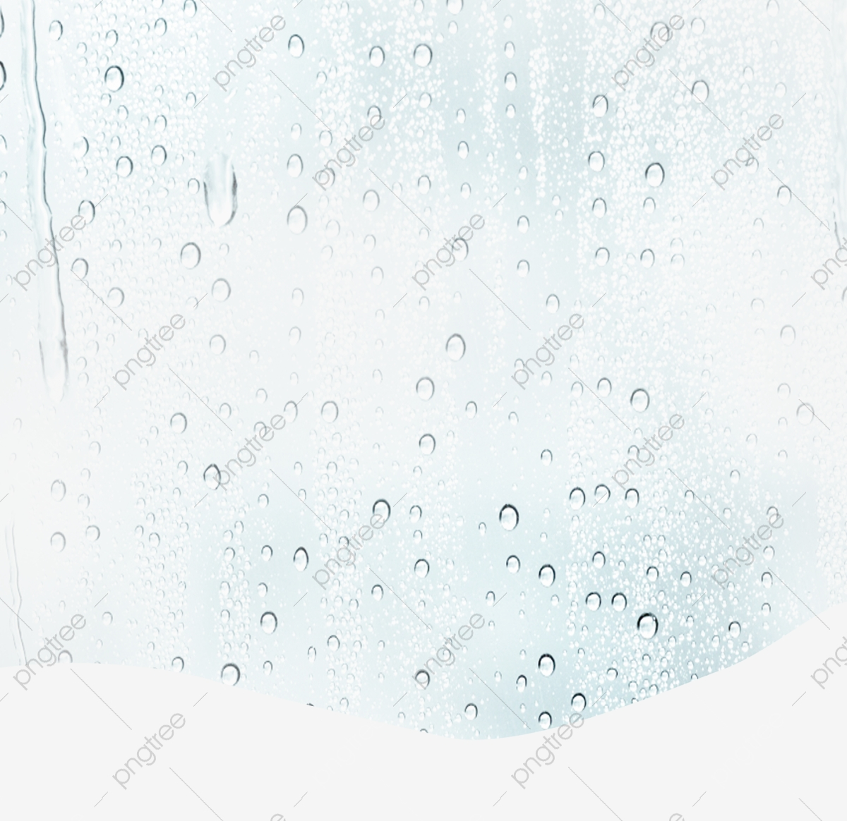 Water Drops Glass Curtain Material Effect Free, Water.