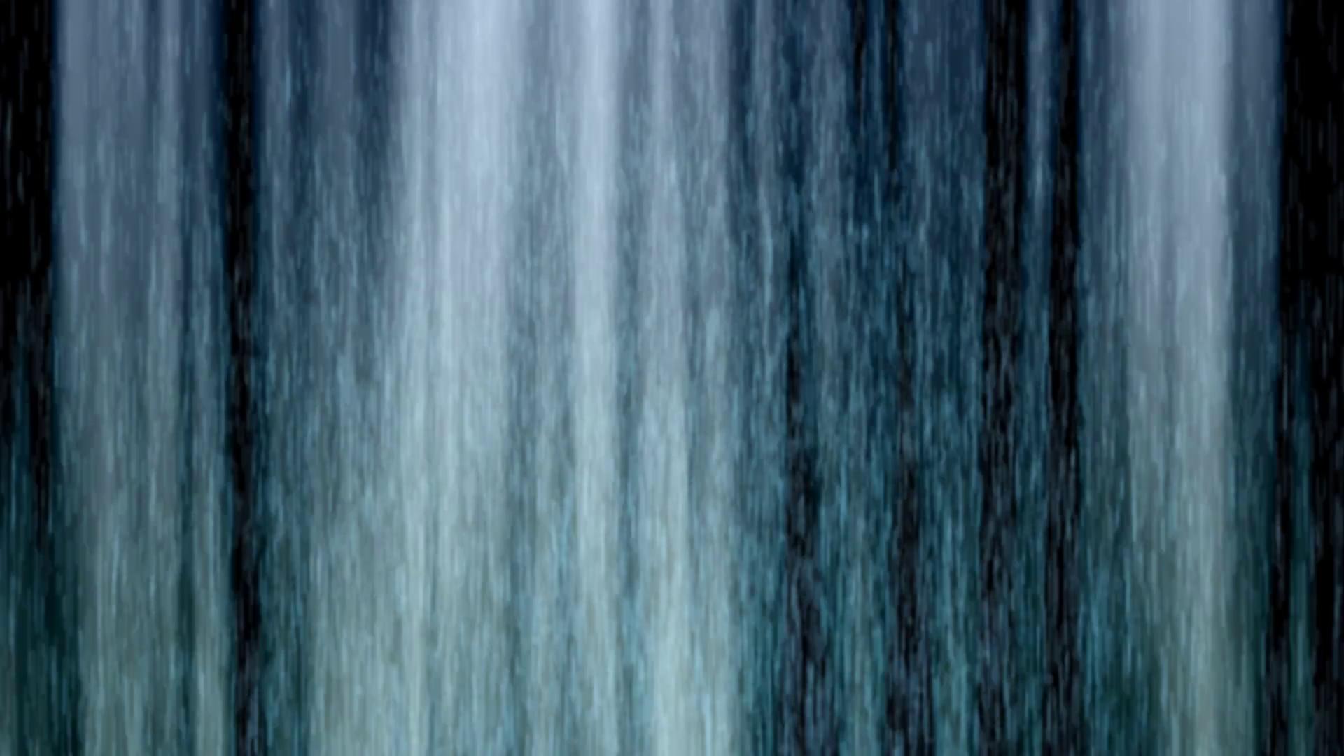 Water Curtain Loop Stock Video Footage.