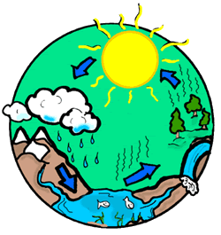 Water Cycle Clipart For Kids.