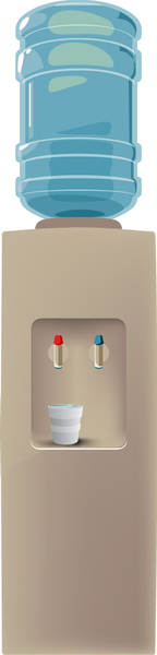 Free Water Cooler Vector Vector.