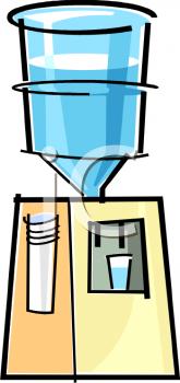 Cartoon Water Cooler.