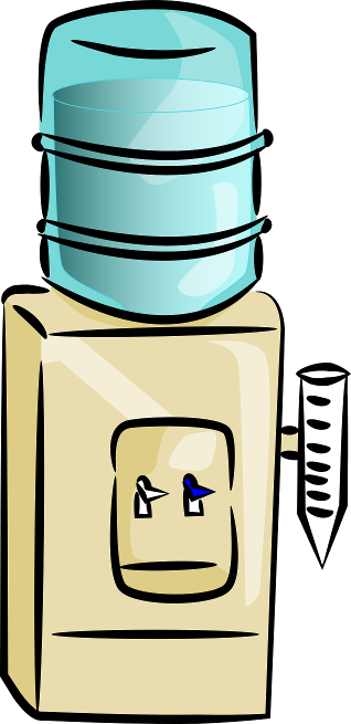 Water dispenser clipart.
