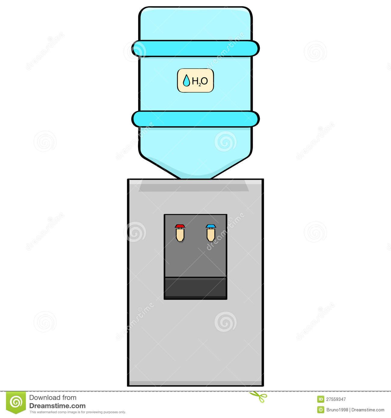 Office Water Dispenser Clip Art.