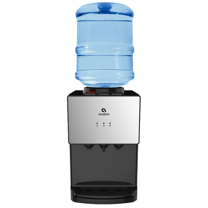 A11 Top load countertop water dispenser.