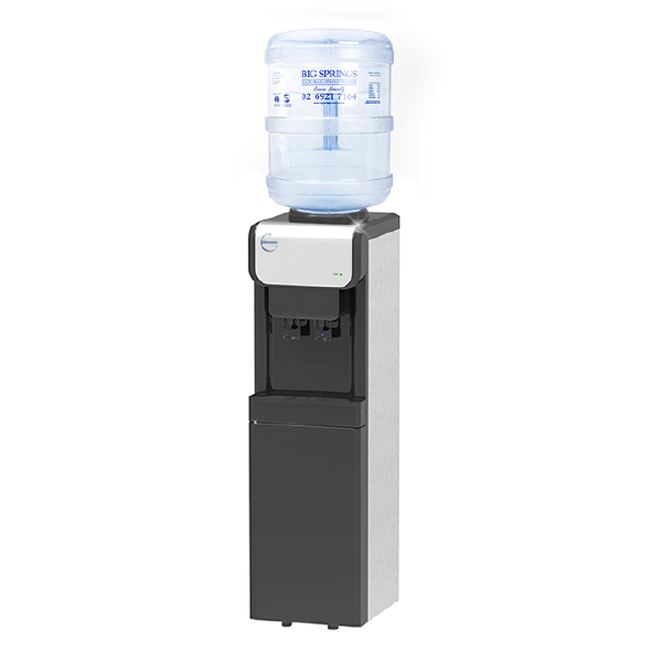 Contemporary Water Cooler (+ 3 free 15L bottles).