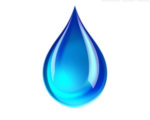 Water Drop Splash Clipart.