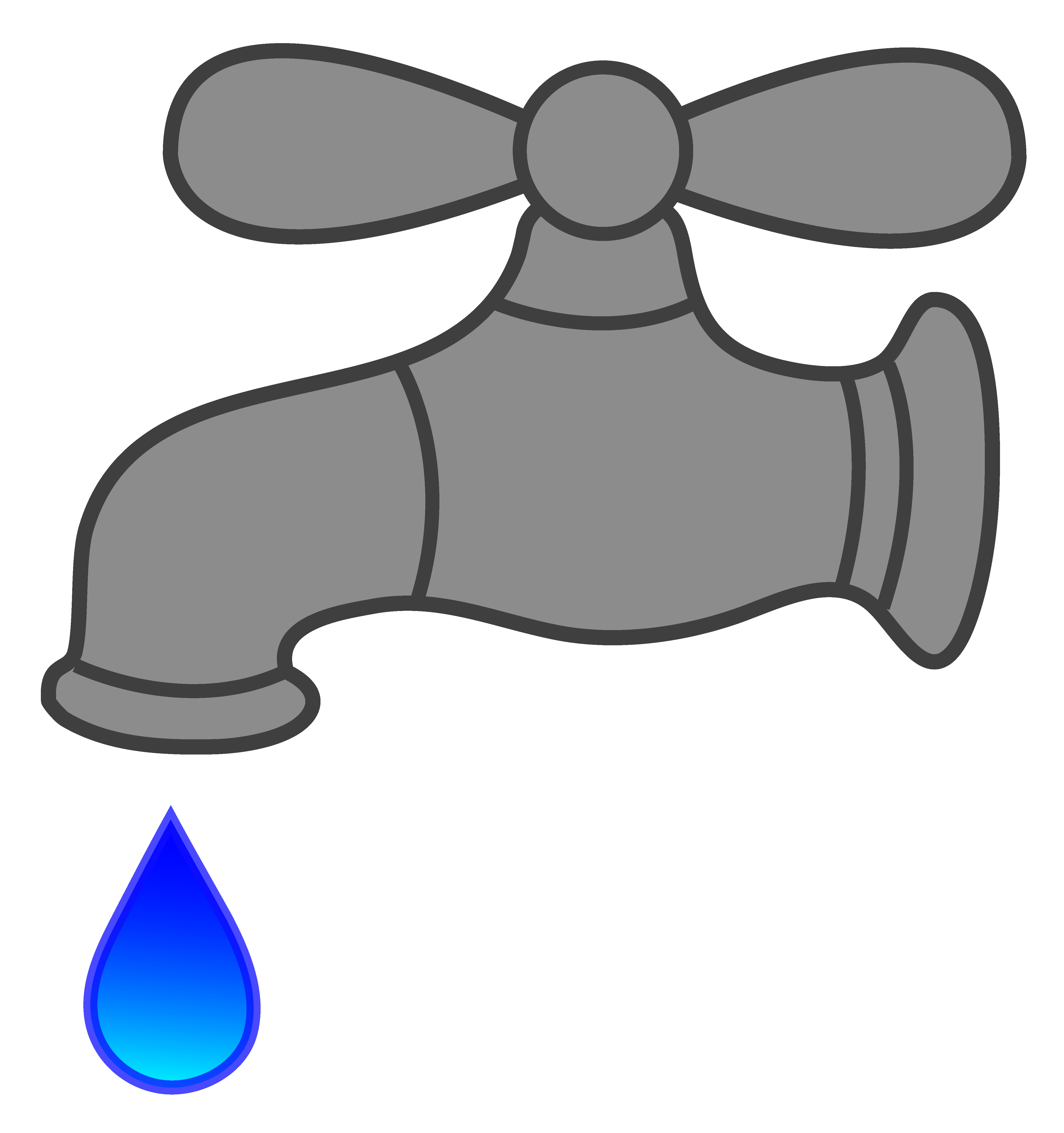 Water Faucet Dripping Free clipart free image.