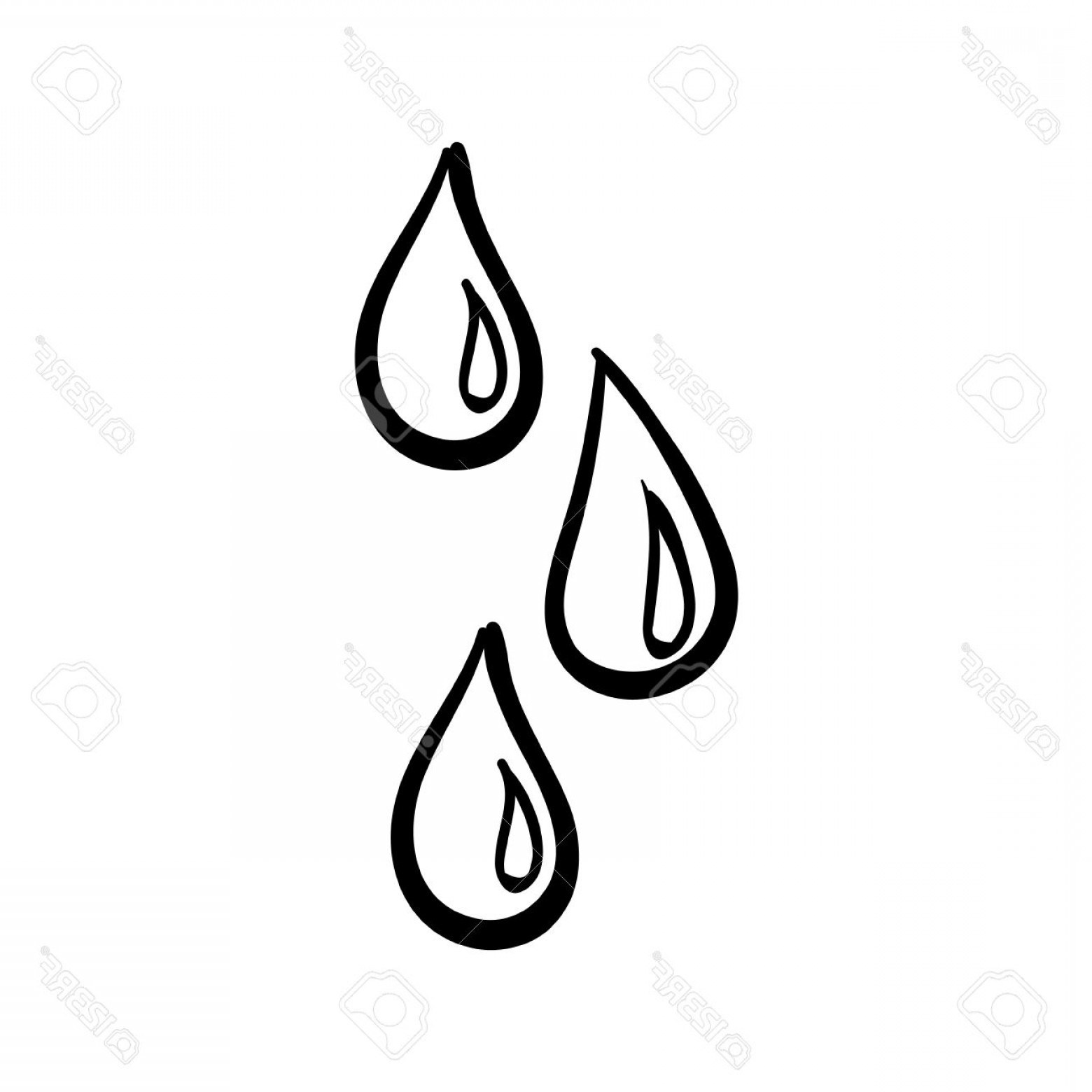 Water drop black and white clipart 7 » Clipart Portal.