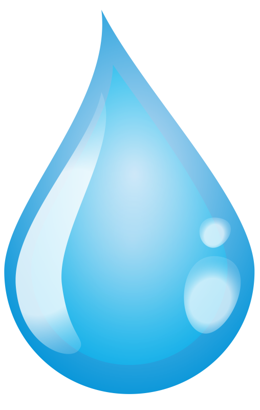 Water Droplets PNG.