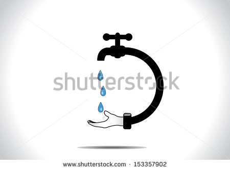 Save Water Stock Images, Royalty.