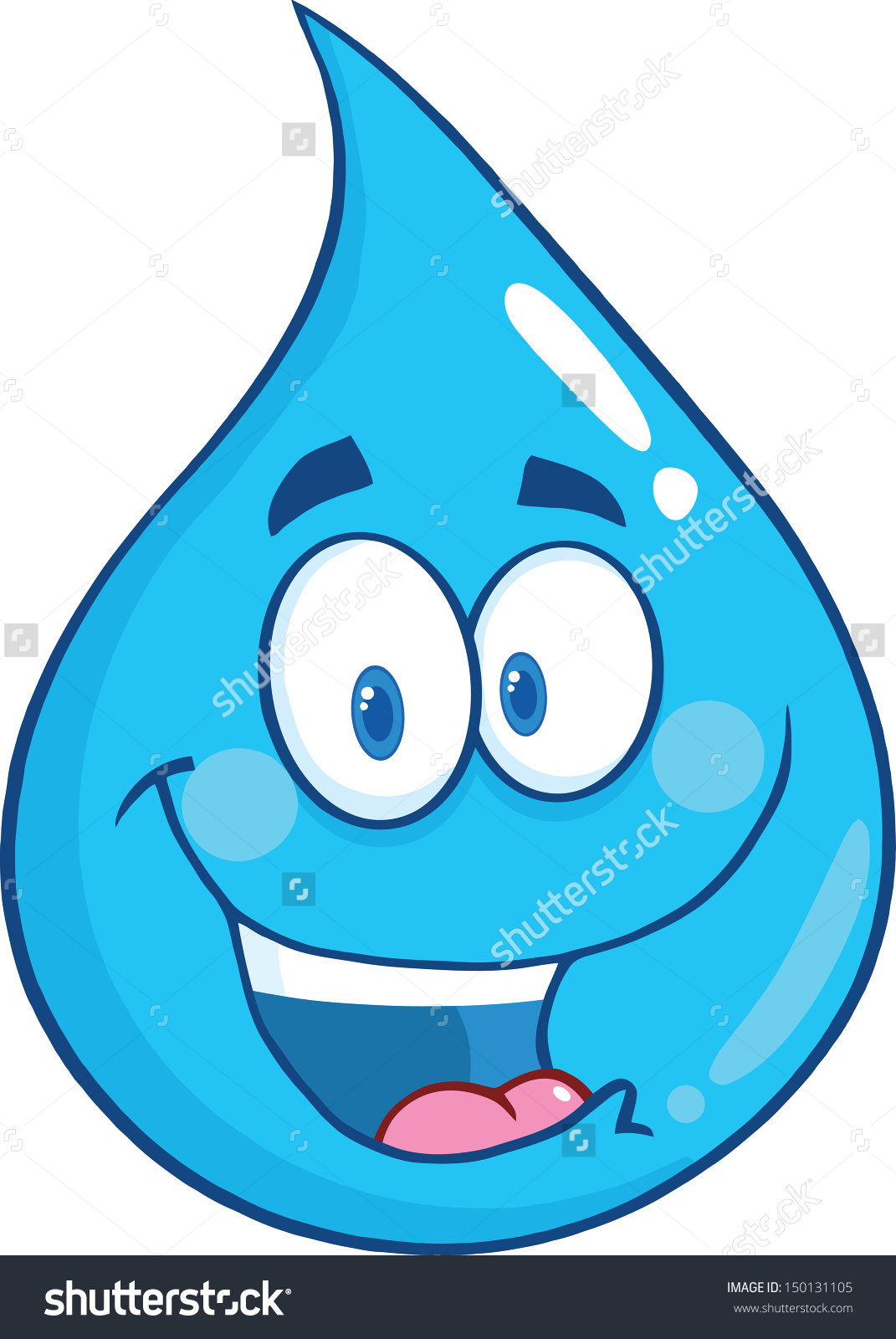 Similiar Water Droplet With Face Keywords.