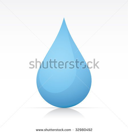 Water Droplets Clipart Multiple.