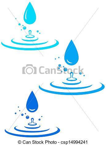 Water Droplets Clipart Splash.