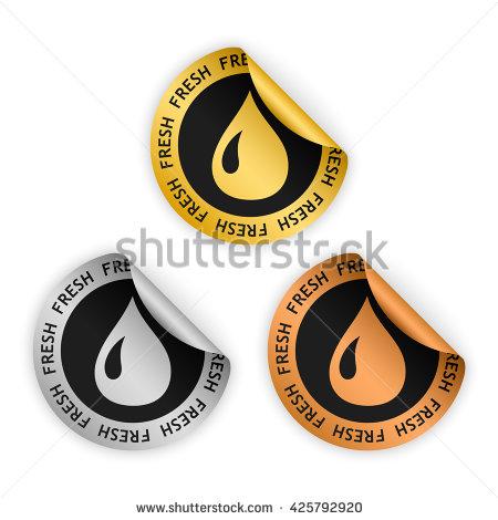 Water Droplets Decreasing Fullness Clipart.