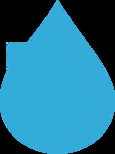 Blue Water Drop Clip Art at Clker.com.