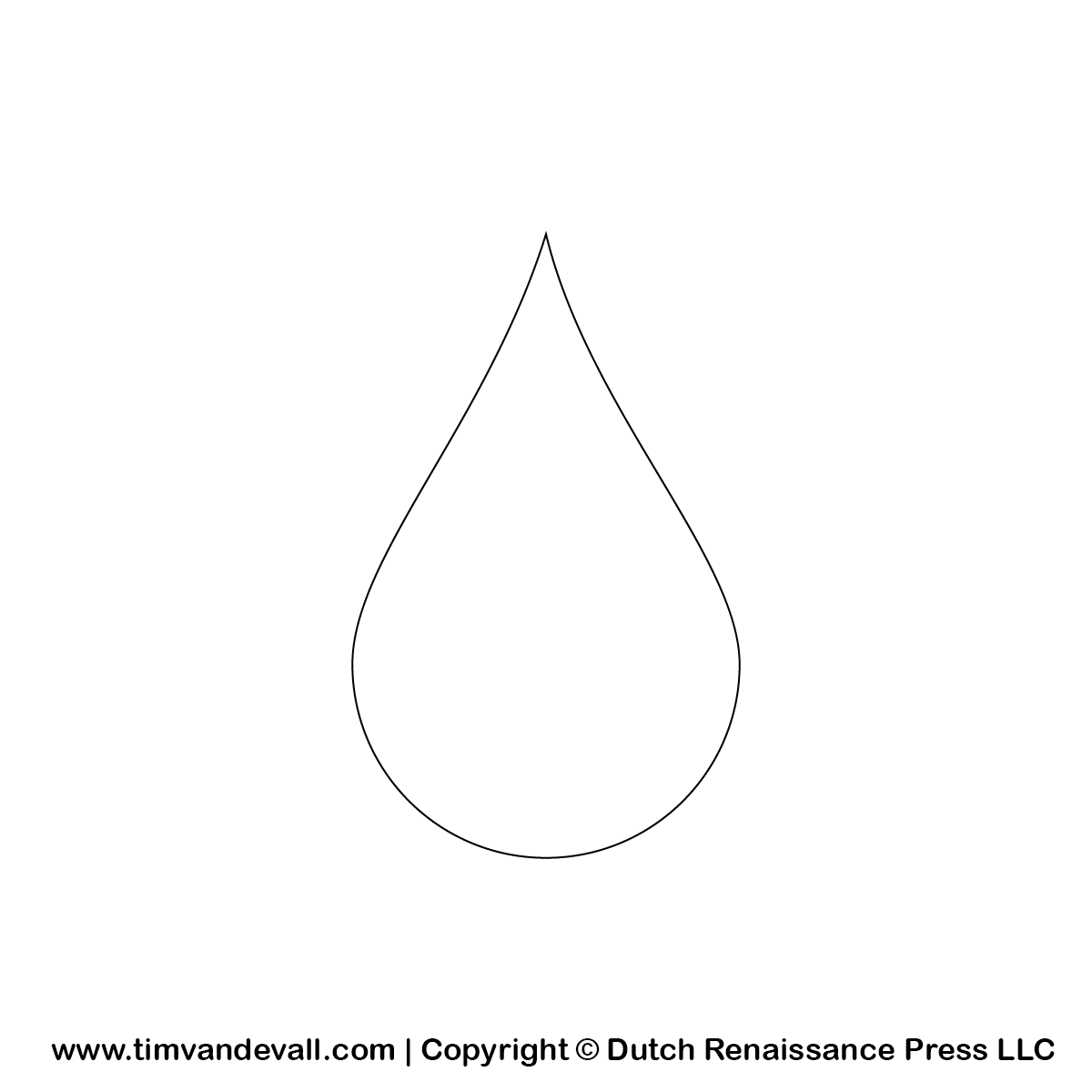 Water Drop Percentage Clipart Black And White.