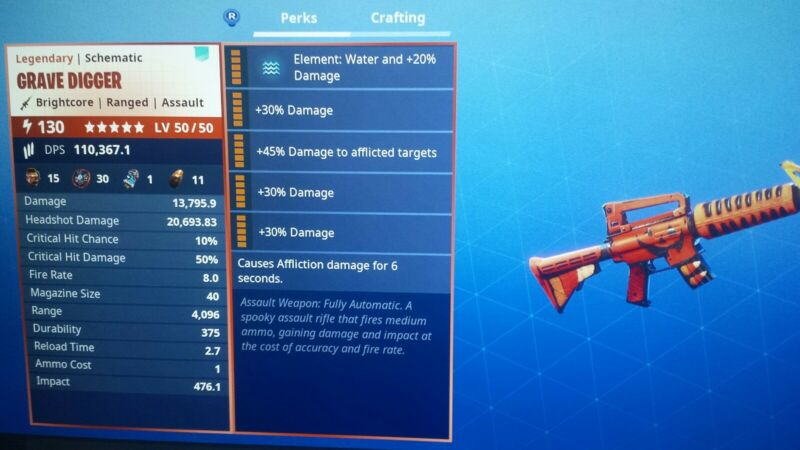 Fortnite Grave Digger Schematic For Sale.