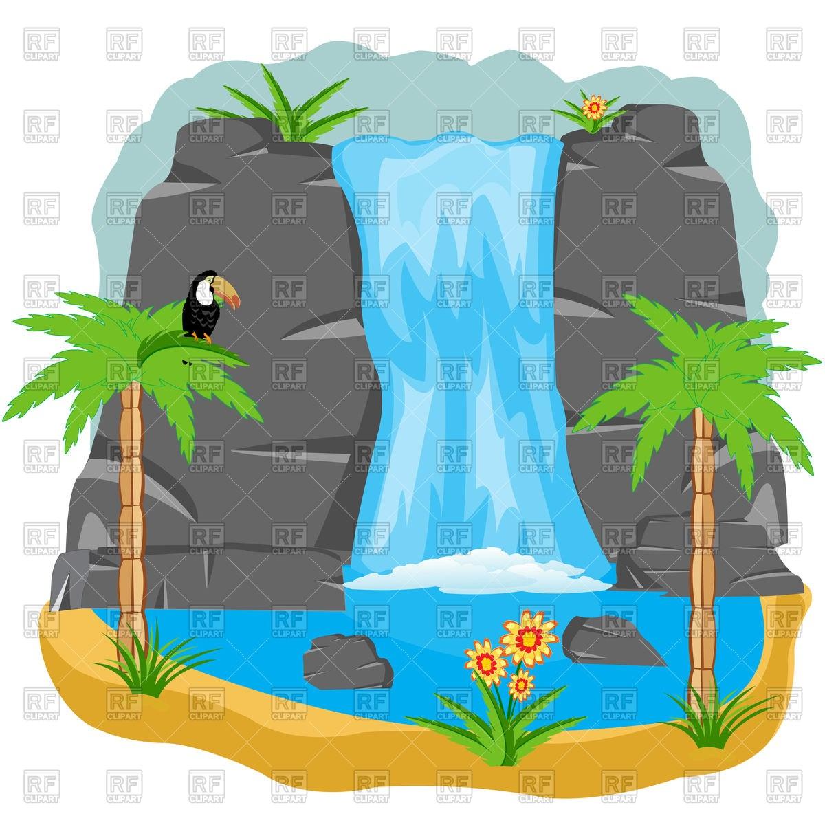 Free waterfall clipart 5 » Clipart Portal.