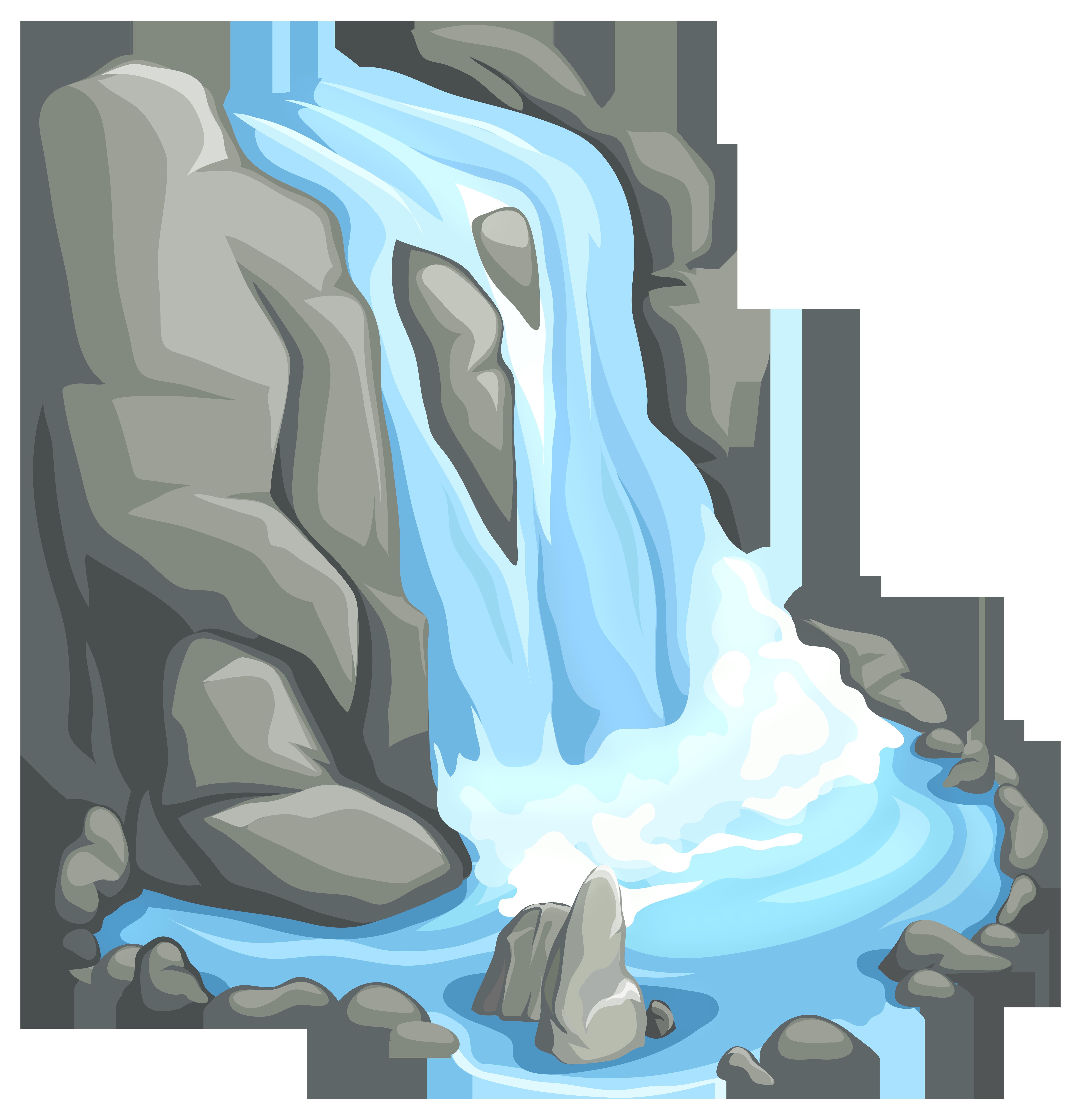 Waterfall PNG Clip Art.