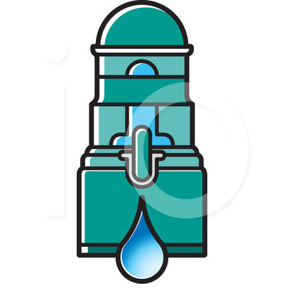 RF) Water Filter Clipart.
