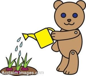 Images: Watering Plants Clipart.