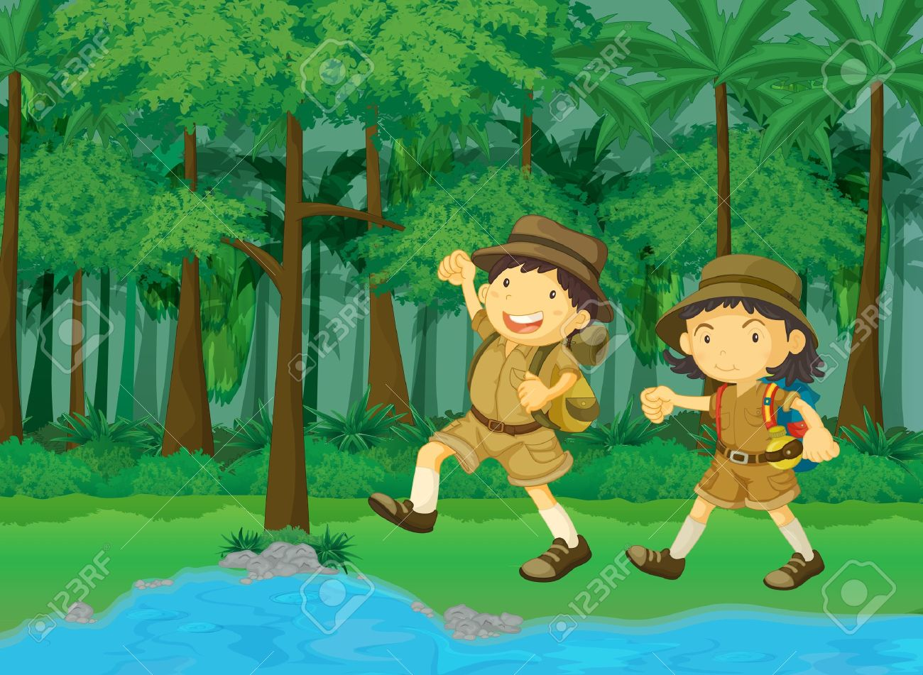 Showing post & media for Water forest cartoon.