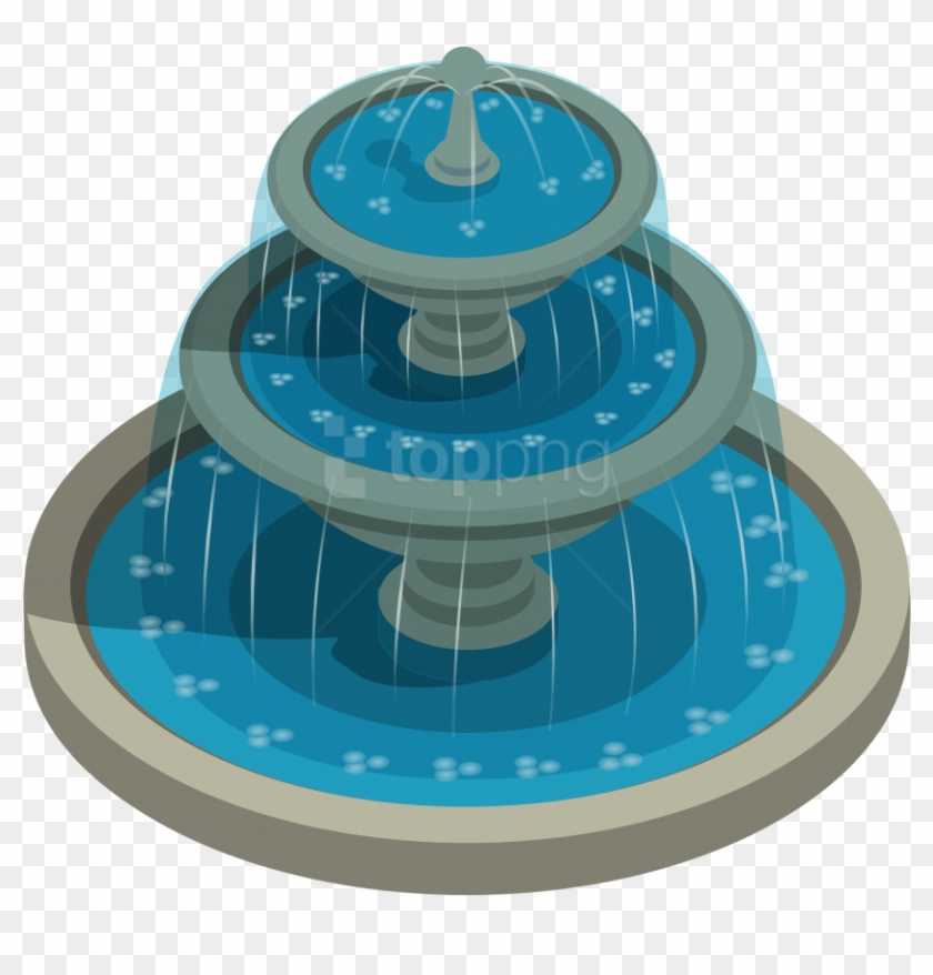 Free Png Download Round Water Fountain Clipart Png.
