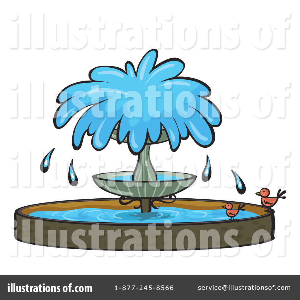 Fountain Park Clipart.