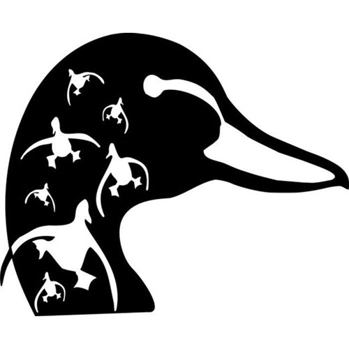 Goose Hunting Clipart.