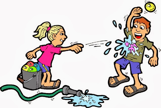 Water Fun Clip Art.