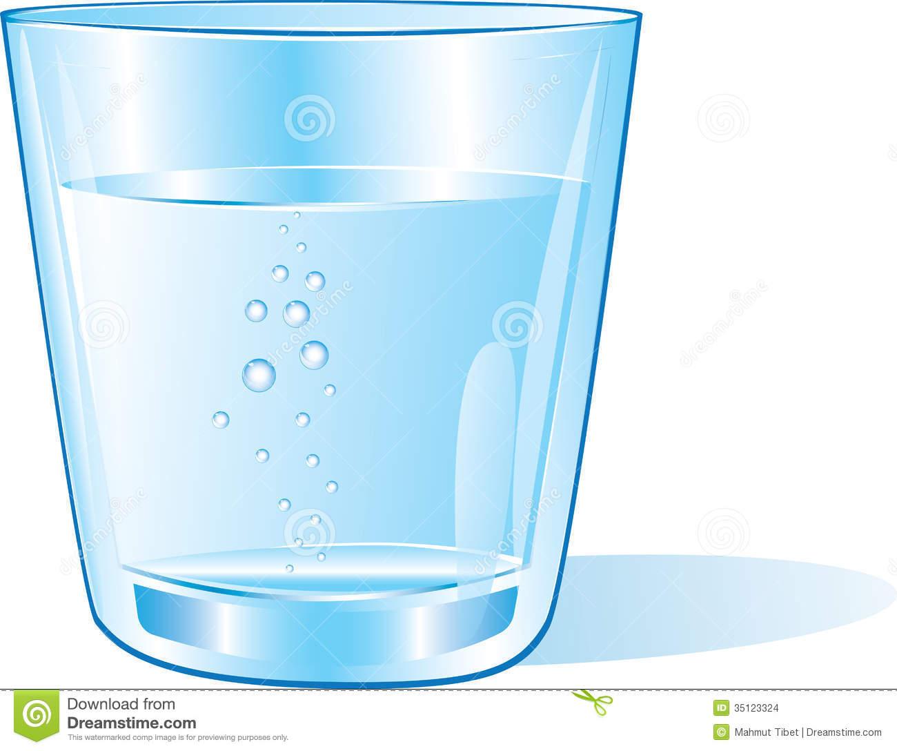 Water glass clip art.
