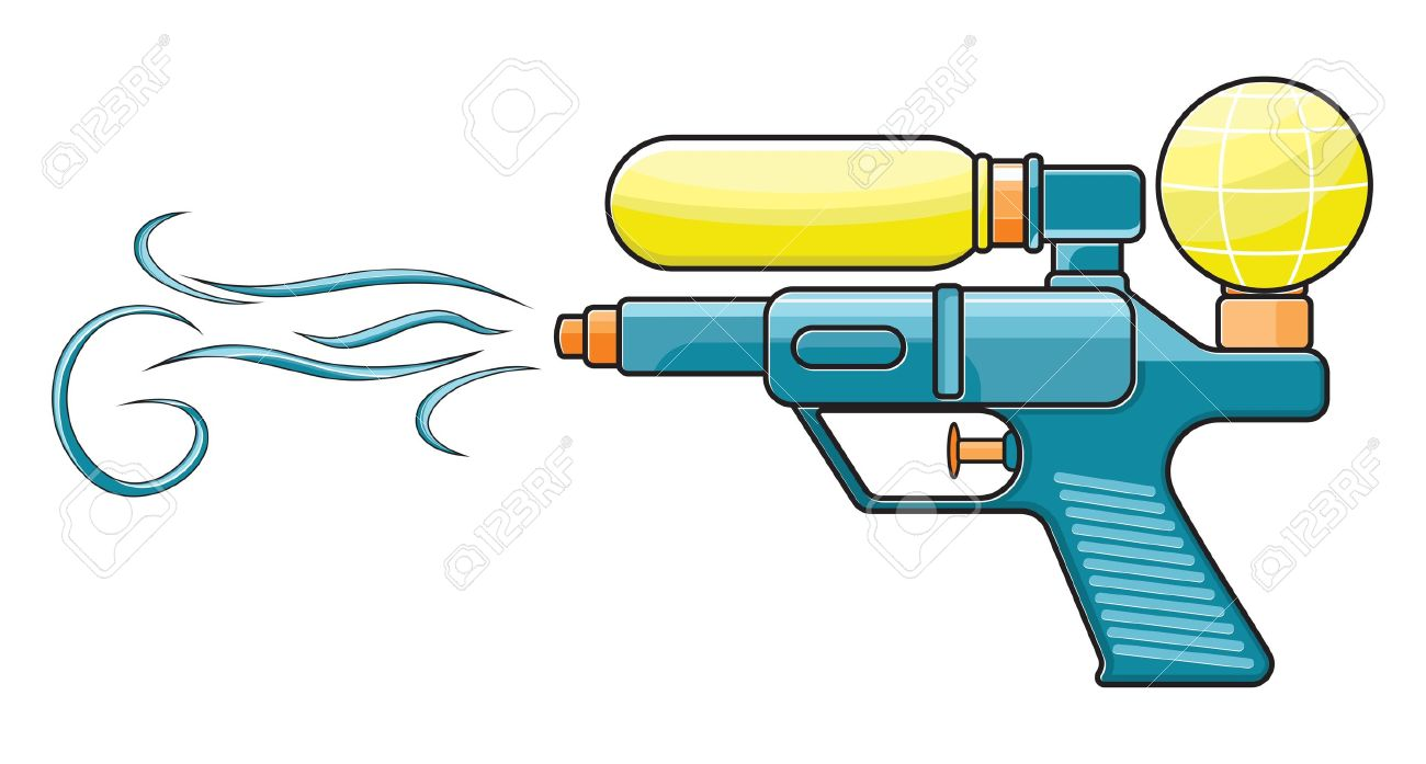 Water Gun Royalty Free Cliparts, Vectors, And Stock Illustration.
