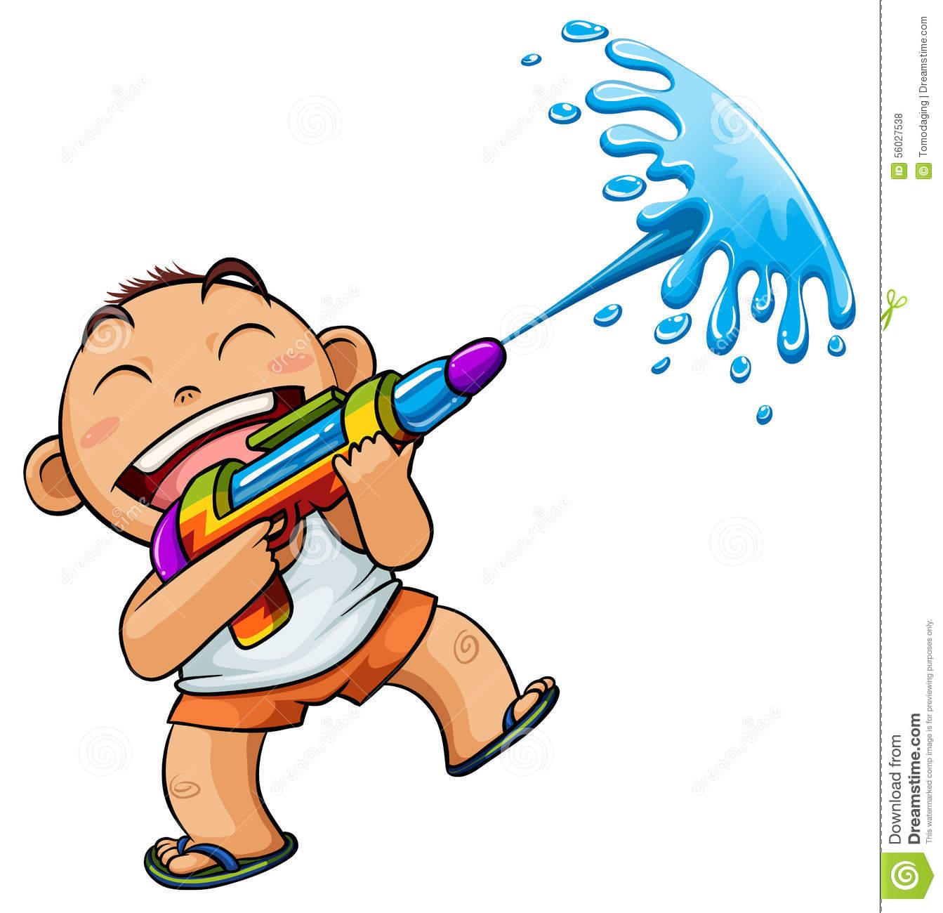 Showing post & media for Cartoon water guns clip art.