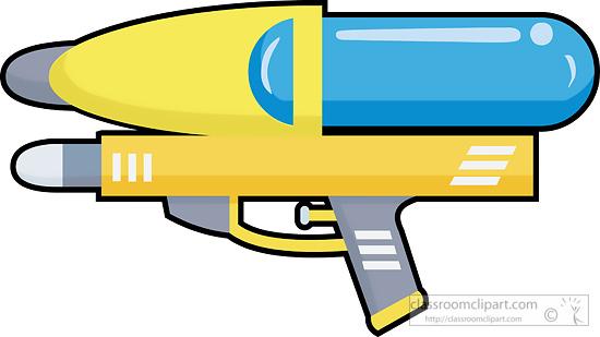 Water Gun Clipart.