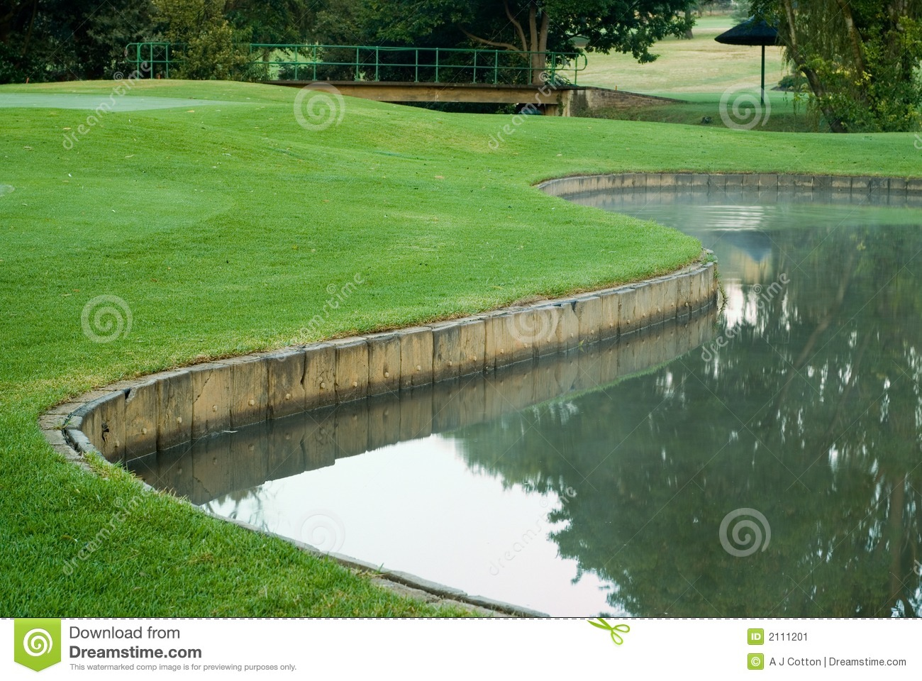 Golf water hazard clipart free.