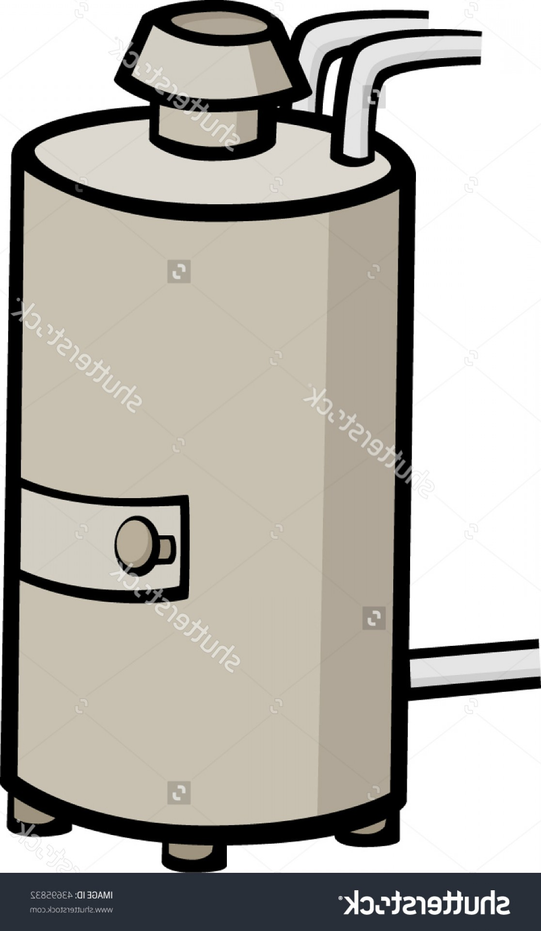 Free Hot Water Heater Clipart Picture.
