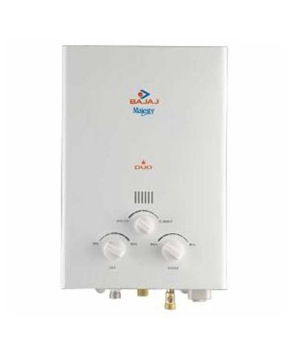 Bajaj Majesty Duo Png/lpg Gas Water Heater.