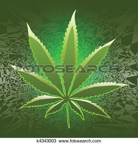 Clipart of Marijuana k4343003.
