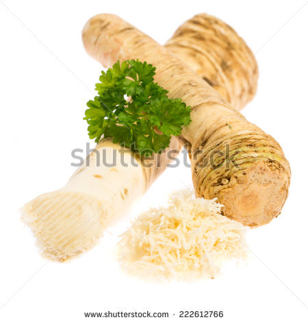 Horse Radish Stock Photos, Royalty.