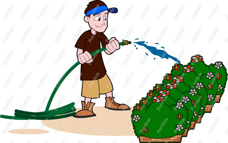man watering flowers clipart 20 free Cliparts | Download ...