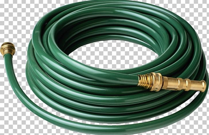 Garden Hoses Water Pipe PNG, Clipart, Cable, Coaxial Cable.