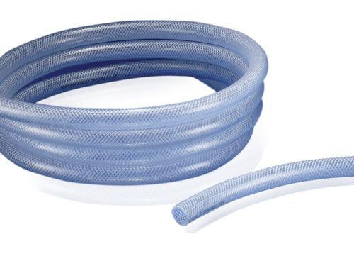 Transparent Air Pneumatic Hose Water.