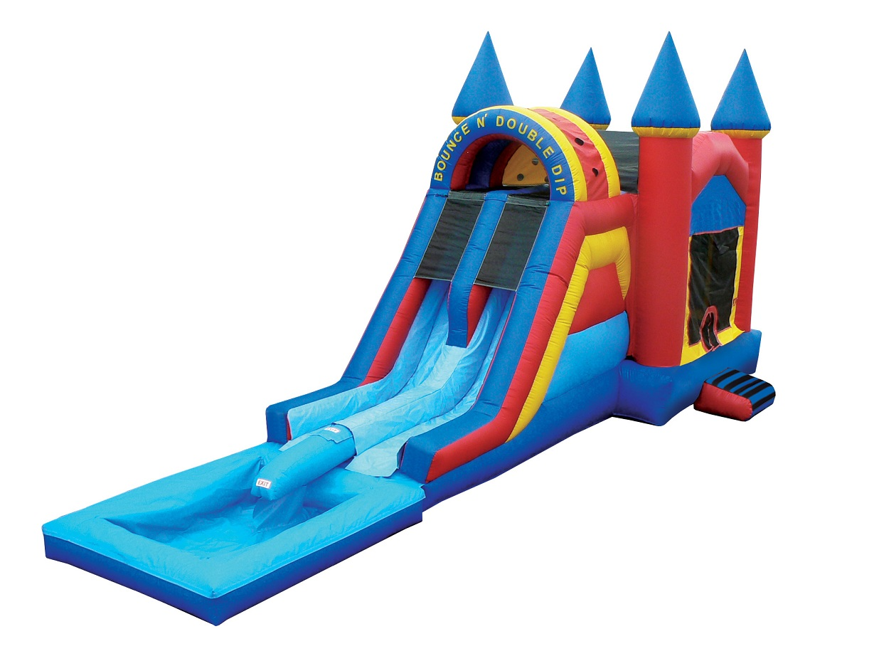 Bouncy Slide Clipart.