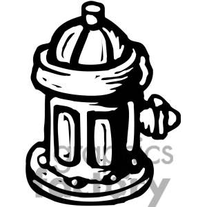Clipart water hydrant.